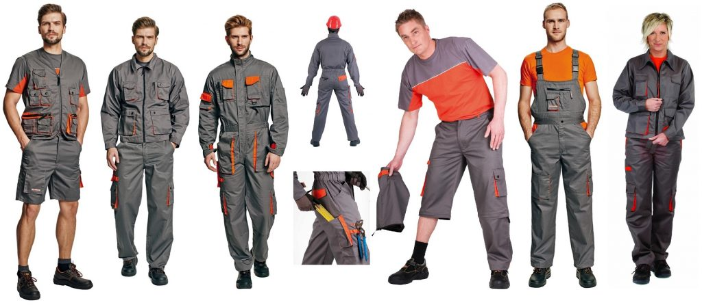Pracovní oděvy DESMAN