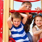 Three elementary aged children